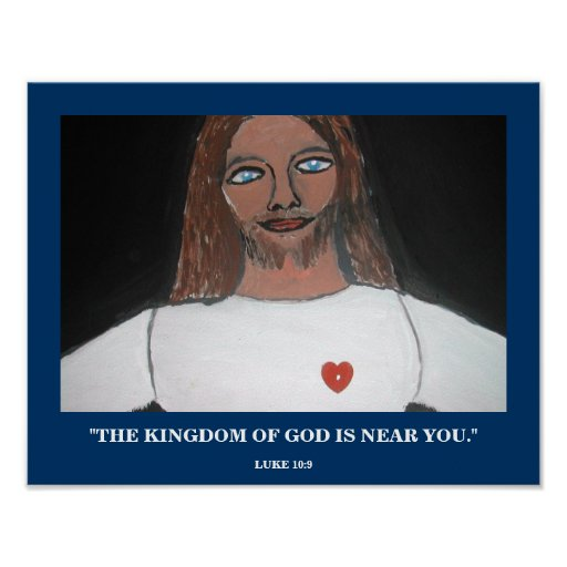 THE KINGDOM OF GOD POSTER