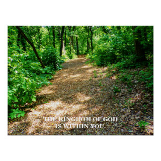 THE KINGDOM OF GOD POSTER