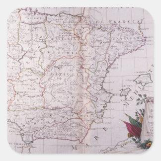 The Kingdom of Spain Square Sticker