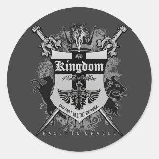 The Kingdom Within Classic Round Sticker