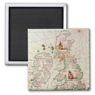 The Kingdoms of England and Scotland 2 Inch Square Magnet