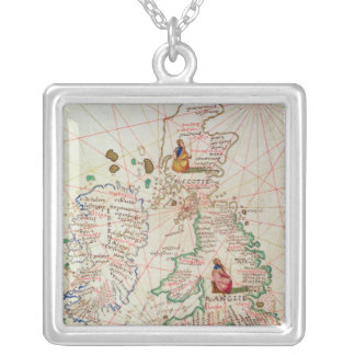 The Kingdoms of England and Scotland Silver Plated Necklace
