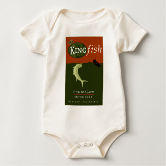 the Kingfish Baby Bodysuit