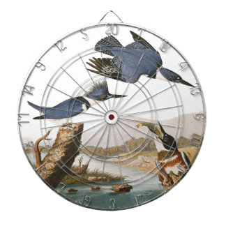 The Kingfisher Bird Dartboard