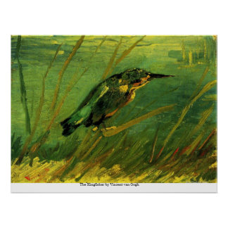 The Kingfisher by Vincent van Gogh Print