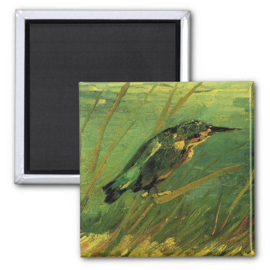 The Kingfisher Van Gogh Fine Art Magnet
