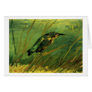 The Kingfisher Vincent van Gogh Greeting Card