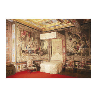 The king's bedchamber canvas print
