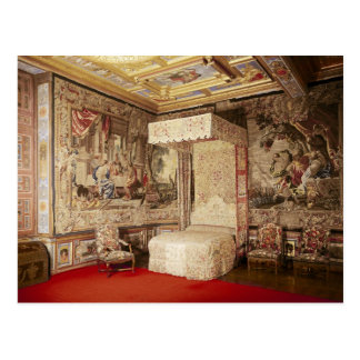 The king's bedchamber postcard