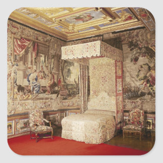 The king's bedchamber square sticker