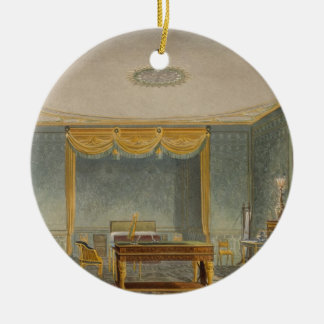 The King's Bedroom, from 'Views of the Royal Pavil Christmas Tree Ornaments