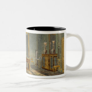The King's Bedroom, from 'Views of the Royal Pavil Two-Tone Coffee Mug