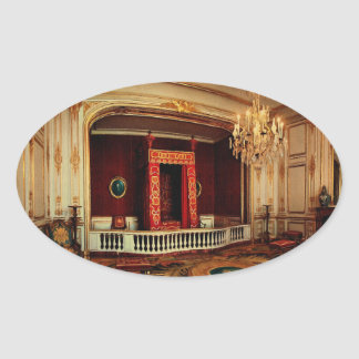 The King's Bedroom Oval Sticker