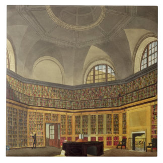 The King's Library, Buckingham House, from 'The Hi Tile