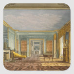 The King's Library from Views of The Royal Pavilio Square Sticker