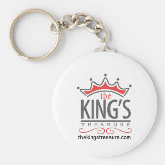 The King's Treasure Official Merchandise Store Basic Round Button Keychain