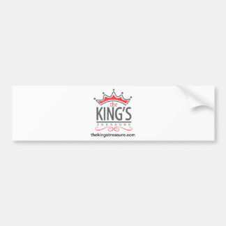 The King's Treasure Official Merchandise Store Bumper Sticker