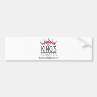 The King's Treasure Official Merchandise Store Car Bumper Sticker