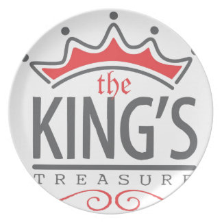 The King's Treasure Official Merchandise Store Dinner Plate