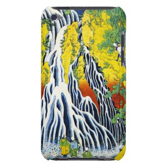 The Kirifuri Waterfall At Kurokami In Shimotsuke iPod Touch Covers