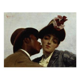 The Kiss, 1887 Postcard