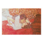 The Kiss, 1893 Posters