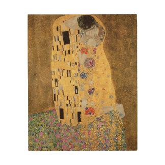 The Kiss, 1907-08 2 Wood Print