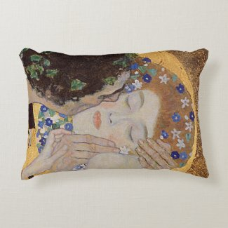 The Kiss, 1907-08 Accent Pillow