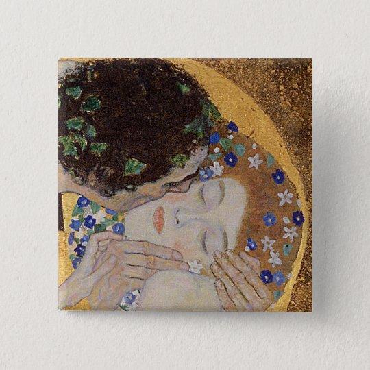 The Kiss, 1907-08 Button