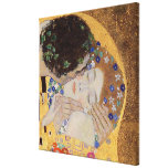 The Kiss, 1907-08 Gallery Wrap Canvas