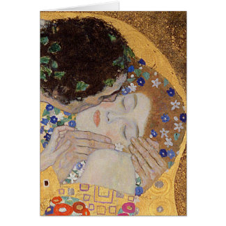 The Kiss, 1907-08 Greeting Card