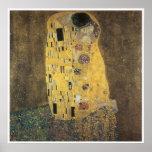 The Kiss, 1907-08 Gustav Klimt Poster