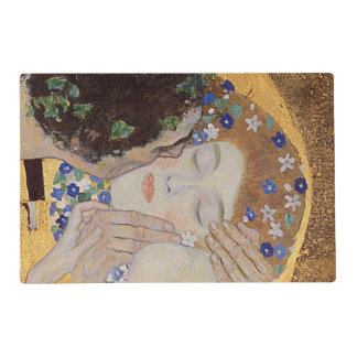 The Kiss, 1907-08 Laminated Placemat