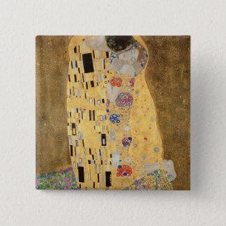 The Kiss, 1907-08 Pinback Button