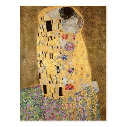 The Kiss, 1907-08 Postcard