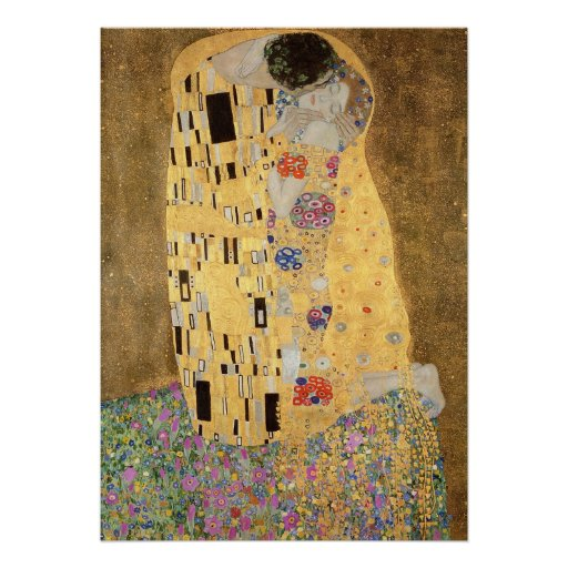 The Kiss, 1907-08 Posters