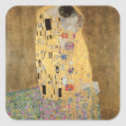 The Kiss, 1907-08 Square Sticker