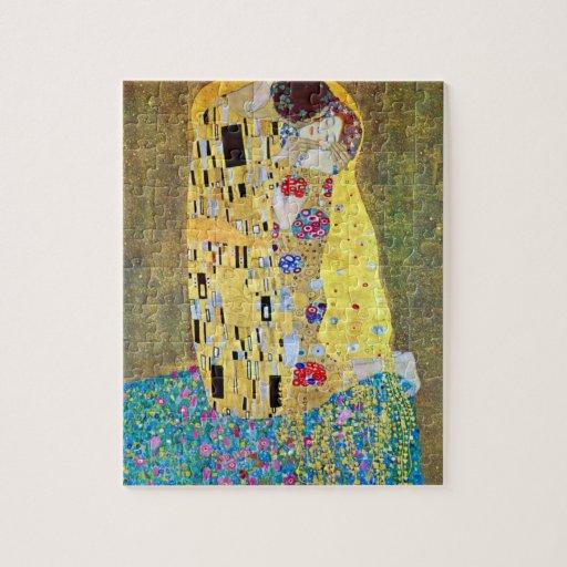 The Kiss 2 by Gustav Klimt Jigsaw Puzzle