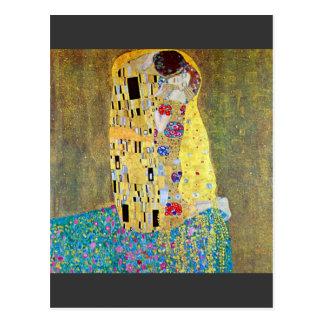 The Kiss 2 by Gustav Klimt Postcard