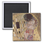 The Kiss 2 Inch Square Magnet