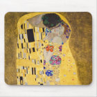 """The Kiss"" and Gustav Klimt Mouse Pad"