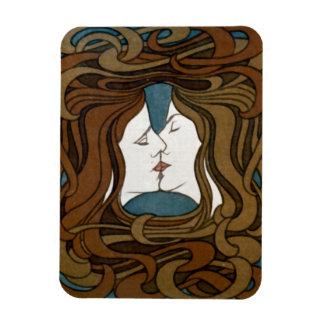 The Kiss - Art Nouveau Kitchen Magnet