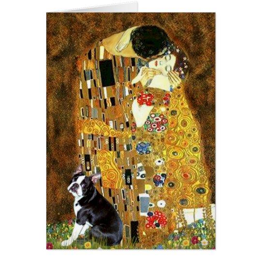 The Kiss - Boston Terrier #4 Card