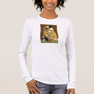 The Kiss - Boston Terrier #4 Long Sleeve T-Shirt