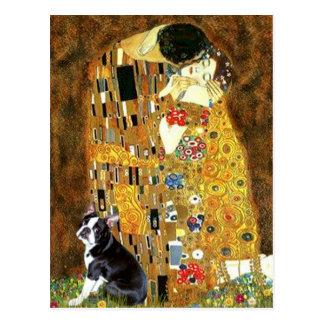 The Kiss - Boston Terrier #4 Postcard
