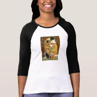 The Kiss - Boston Terrier #4 T-Shirt