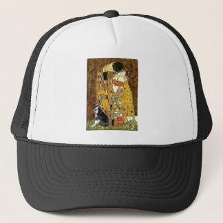 The Kiss - Boston Terrier #4 Trucker Hat