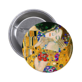 The Kiss by Auguste Rodin Pinback Button