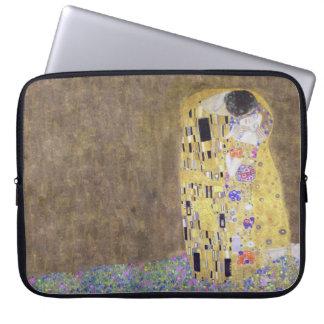 The Kiss by Gustav Klimt  1 Laptop Computer Sleeve