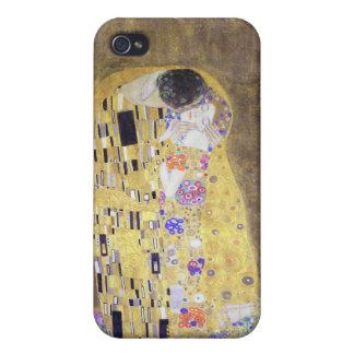 The Kiss by Gustav Klimt Art Nouveau iPhone 4/4S Cases